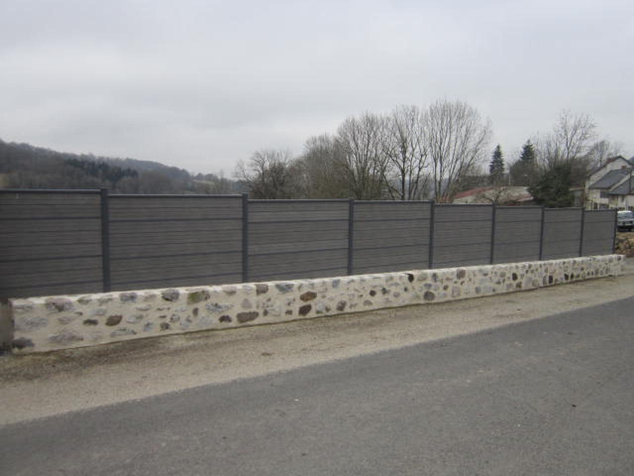 Mur Cloture Pierre construction clôtures aurillac cantal